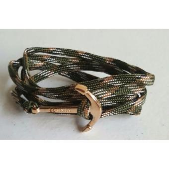 Fashionable Anchor Bracelet (Green) Price Philippines