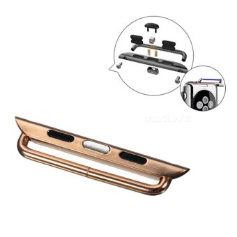 Watch Band Wrist Strap Adapter iWatch For Apple (Rose Gold) Price Philippines