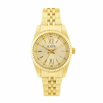 Harga Axis Taylor Gold Strap Watch Ah2232-1216