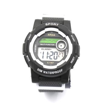 Xinjia 867 Sport Unisex Resin Strap Watch Price Philippines