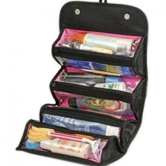 Harga Roll-N-Go Cosmetic Bag (Black)
