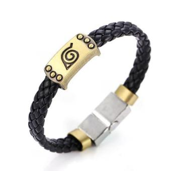 Hot Animation Alloy and leather Bracelets Naruto Price Philippines