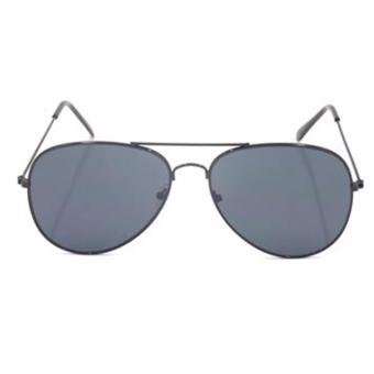 Protech Aviator Flat Lens Sunglasses Shades Eyeglasses (Black) Price Philippines