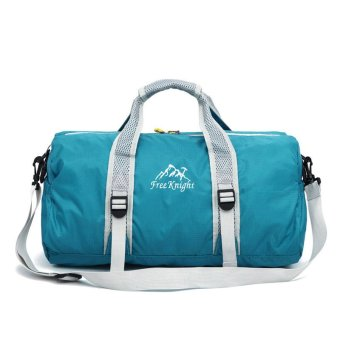 Free Knight Unisex 210 Waterproof nylon Large Capacity Ultralight Foldable outdoor gym bag sports bags Travel Duffle Bags SKY Blue Price Philippines