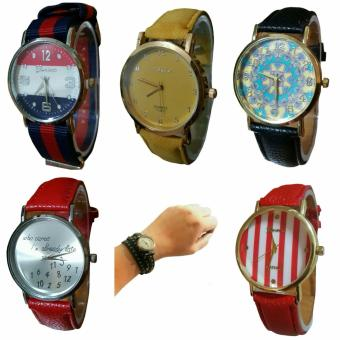 Assorted Fashionable Watches Christmas Bundle 2 (pack of 6) Price Philippines