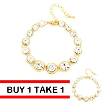 Bling Bling Buy 1 Take 1 Britney Bracelet (Gold) Price Philippines
