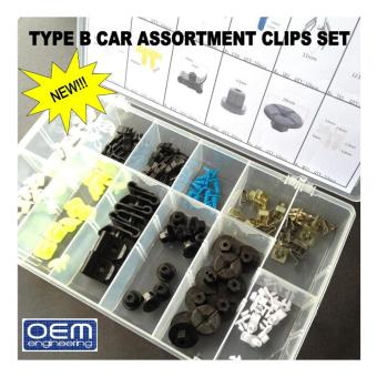 OEM Engineering TYPE B Car Assortment Clips Set Price Philippines