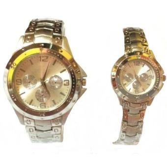 Lovely Stainless Couple Watch (SilVer) Price Philippines