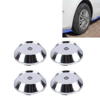 4 PCS Metal Car Styling Accessories Car Emblem Badge Sticker Wheel Hub Caps Centre Cover - intl Price Philippines