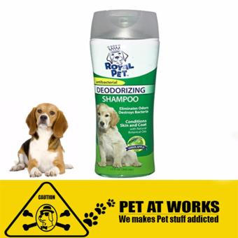 Harga Royal Pet Deodorizing Shampoo (355ml) Green Apple for Dogs and Pets Antibacterial Shampoo
