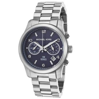 Harga Michael Kors Hunger Stop Women's Silver Stainless-Steel Watch MK5814