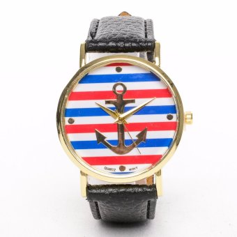 Golden Anchor Leather Strap Watch Price Philippines