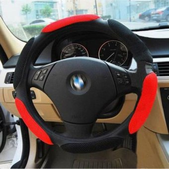 3D Sandwich Style Slip-resistant Slams Car Steering Wheel Movement Cover - intl Price Philippines