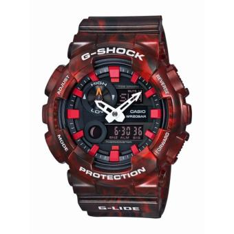 Casio G Shock G-Lide Blaze Red Analog Watch GAX100MB-4 Price Philippines