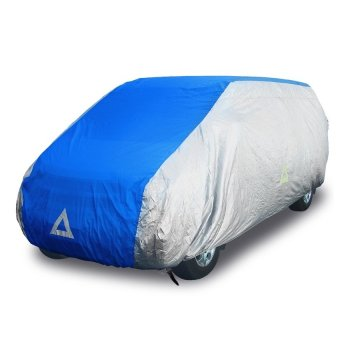 Deflector DCCB-VAN1-SB Car Cover for Van (Silver/Blue) Price Philippines
