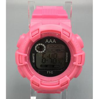 AAA Unisex Sports Digital Sports Watch (Pink) Price Philippines
