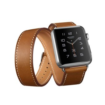 GAKTAI Leather Band Double Tour Bracelet Watch Band Strap For Apple iWatch 38MM Price Philippines