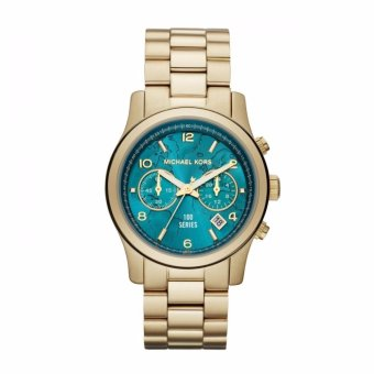 Harga Michael Kors Runway Limited Edition Hunger Stop Gold Watch MK5815