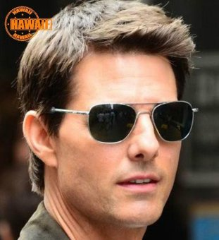 Harga Hawaii Famous Army MILITARY Pilot Sunglass Brand American Optical Glass Lens Sun Glasses - intl