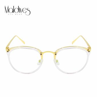Maldives 3418 Nyla Fashion Classic Round Frame Eyeglasses(Clear Lens/Transparent) Price Philippines