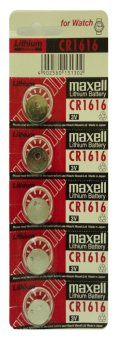 Harga Maxell CR1616 Button Cell Pack of 5
