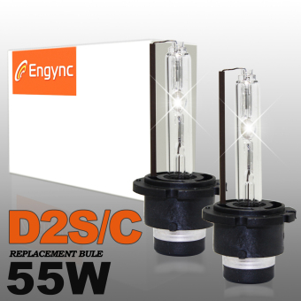 Harga Engync® 55W D2C OEM Xenon HID Headlight Bulbs (Pack of 2) - Hi/Low OEM White (5000K)