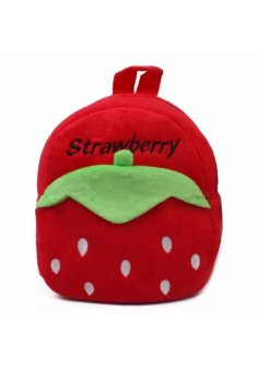 Harga Strawberry Like Kids Fur Bag
