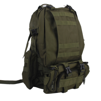 BolehDeals Military Tactical Rucksack Molle Assault Backpack Bag for Hiking 65L Green Price Philippines