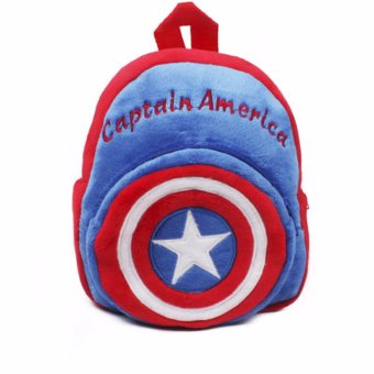 Captain America Soft Backpack for Kids (Small) Price Philippines