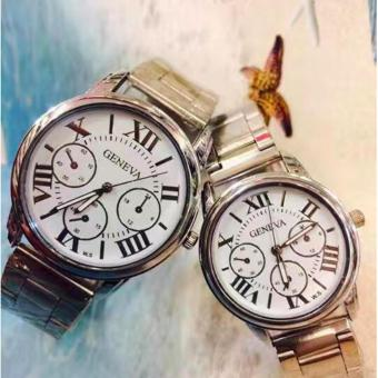 New 2017 Hong Kong High Fashion Geneva Couple Watch Stainless Steel Watch Price Philippines