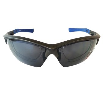 Harga Fury S-CLEVE Active Sunglasses with Rx Prescription Clip-on (Smoke Grey Lens)