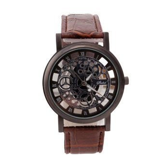 PAlight Engraving Watches Imitation of mechanical watch Gift Unisex Price Philippines