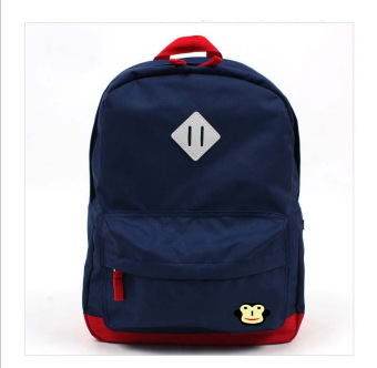 Harga Kids Backpack Child Bag Middle Size (Color : Navy Blue; Suitable for : 4 To 6 Years Old)