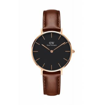 DANIEL WELLINGTON Classic Petite St. Mawes Black Face 32mm Rosegold Watch Price Philippines