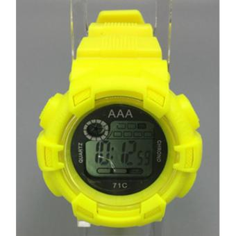 AAA Unisex Sports Digital Sports Watch (Yellow) Price Philippines