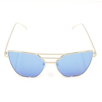 Protech Fashion Butterfly Style Shades Women's Sunglasses 1002 (Copper/Blue) Price Philippines