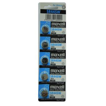 Harga Maxell Silver Oxide Battery SR44SW Pack of 5
