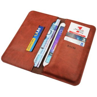 Bavin Leather Wallet (Brown) Price Philippines