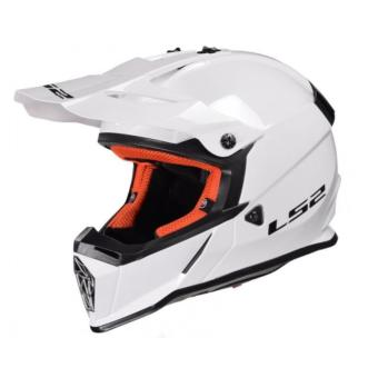 LS2 Motard MX437 Fast Mono Helmet (White) Price Philippines
