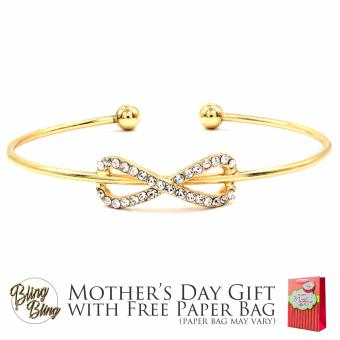 Bling Bling Agna Gold Bracelet Bangle with Free Paper Bag Price Philippines
