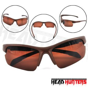Protech Fashionable Motorcycle Riders Unisex Sunglasses - Sun Protector Shades (Brown) Price Philippines