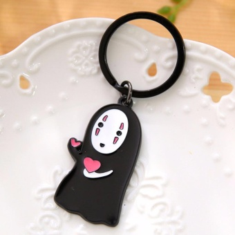 Hequ Couple Keychain Cute No Face Male Key Ring Couple Key Ring 1839982 - intl Price Philippines