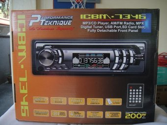 Harga Performance Teknique ICBM-7345 Car Stereo (Black)