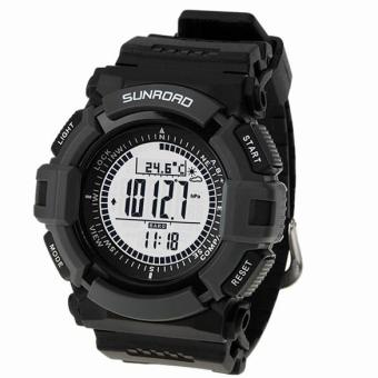 Harga SUNROAD Sports Watch FR820A Altimeter Barometer Compass Pedometer Countdown