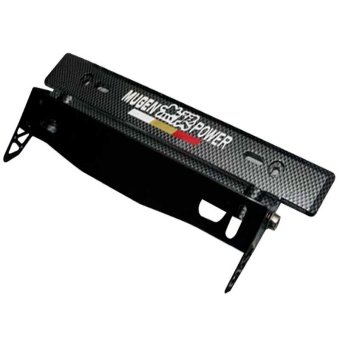 Mugen Car Plate Holder (Black) Price Philippines
