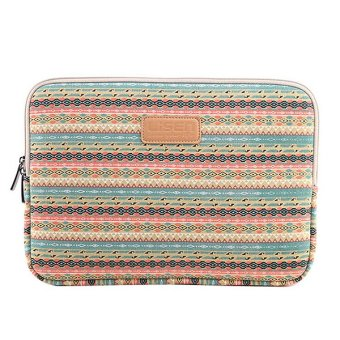 Harga LISEN Bohemian Style 15.6 Inch Laptop Bags Case Macbook Bag