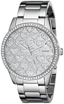 Harga Guess Women's Silver Tone Stainless Steel Strap Watch U0536L2
