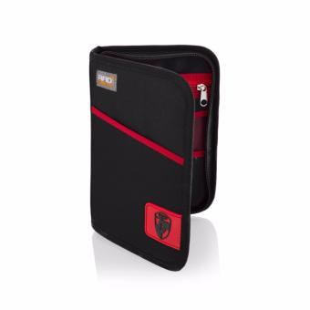 Harga RFID Blocking Passport Wallet Black