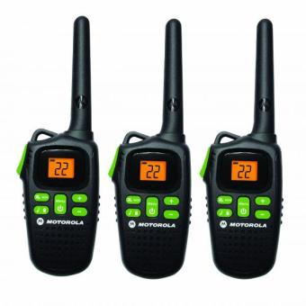 Harga Motorola MD200TPR FRS Two-Way 20 Mile Radio Triple Pack (Black)