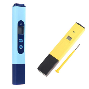 Harga Digital EC Conductivity Meter Tester Pen + PH Meter Hydroponics UK